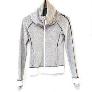 Lululemon Ghost Herringbone Be Present Jacket